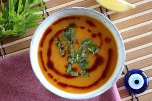 Turecká šošovicová polievka