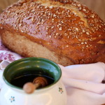 Zdravý medový chlebík