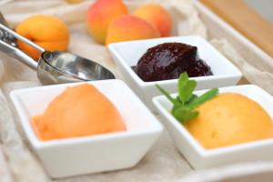 Ovocný sorbet