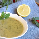 Pikantná cuketová polievka