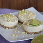 Kokosovo - citrónový raw cheesecake