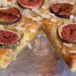 Mandľový koláč s figami
