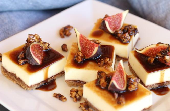 Figový cheesecake