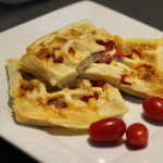 Plnené wafle na slano