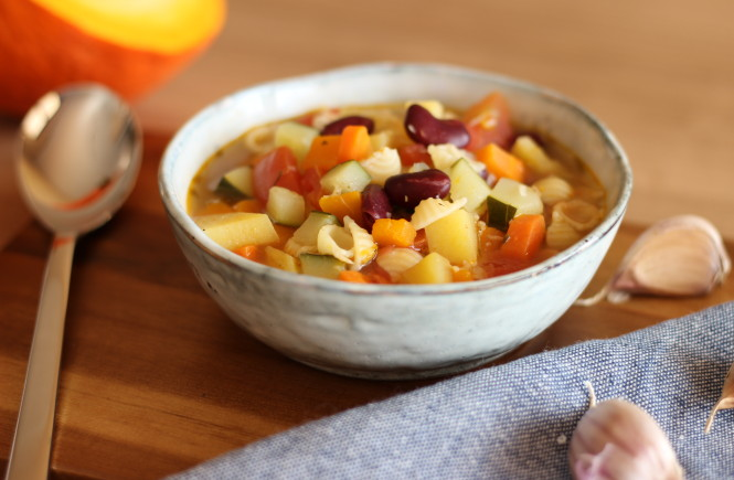 Jesenná minestrone