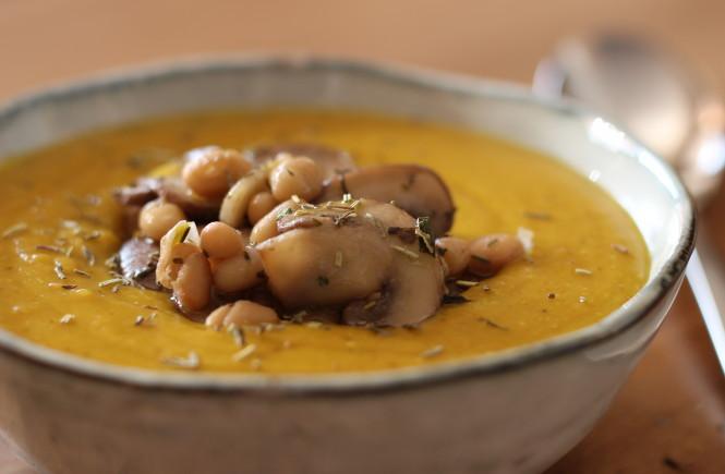 Netradičná šošovicová polievka