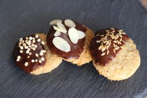 Mandľové koko keksíky