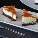 Brownie Cheesecake so slaným karamelom